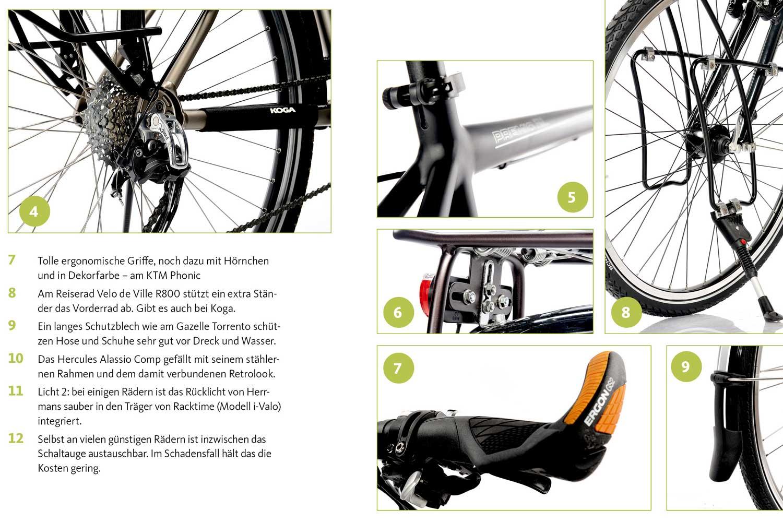 Trekkingräder für Alltag und Tour im Test