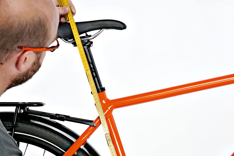 Rahmenhöhe beim Trekkingrad, Bike, Rennrad - RADfahren.de