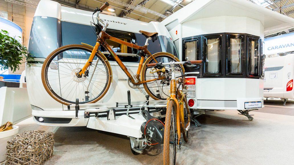 Camping Essen und Fahrrad
