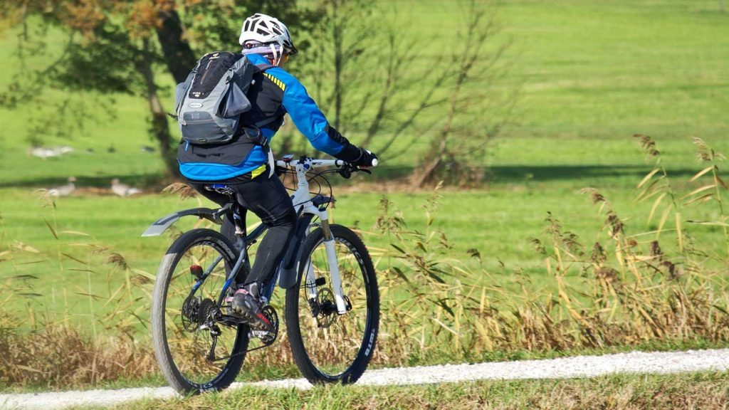 Ein guter Fahrradhelm kann Leben retten.