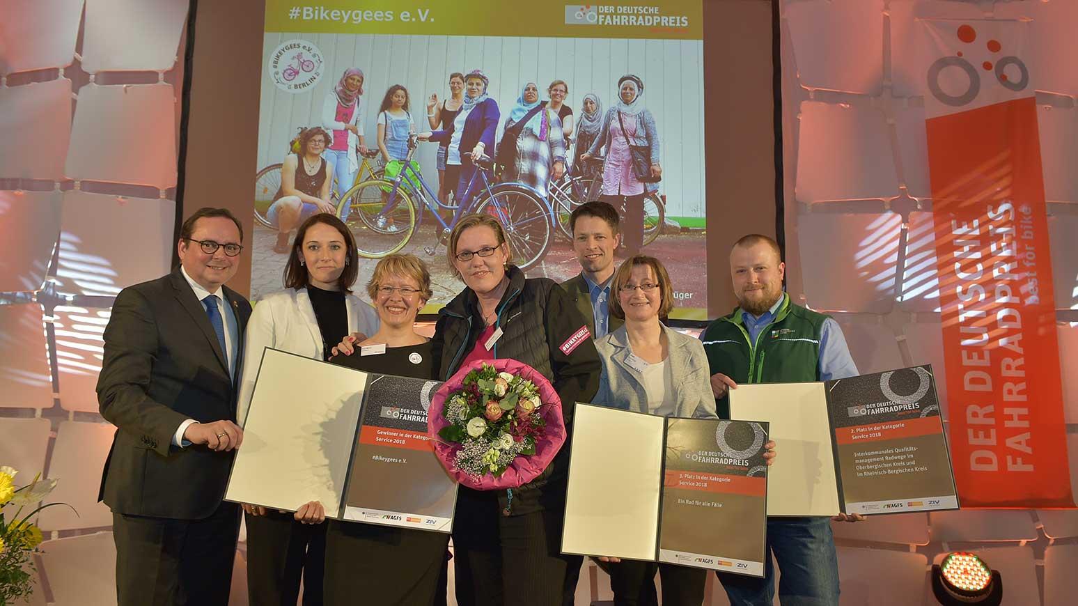 Das Projekt #Bikeygees verhilft geflüchteten Frauen durchs Radfahren zu Mobilität
