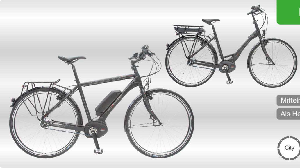 Die Elite Bosch Serie von Maxcycles - ausgestattet mit Rohloff E-14