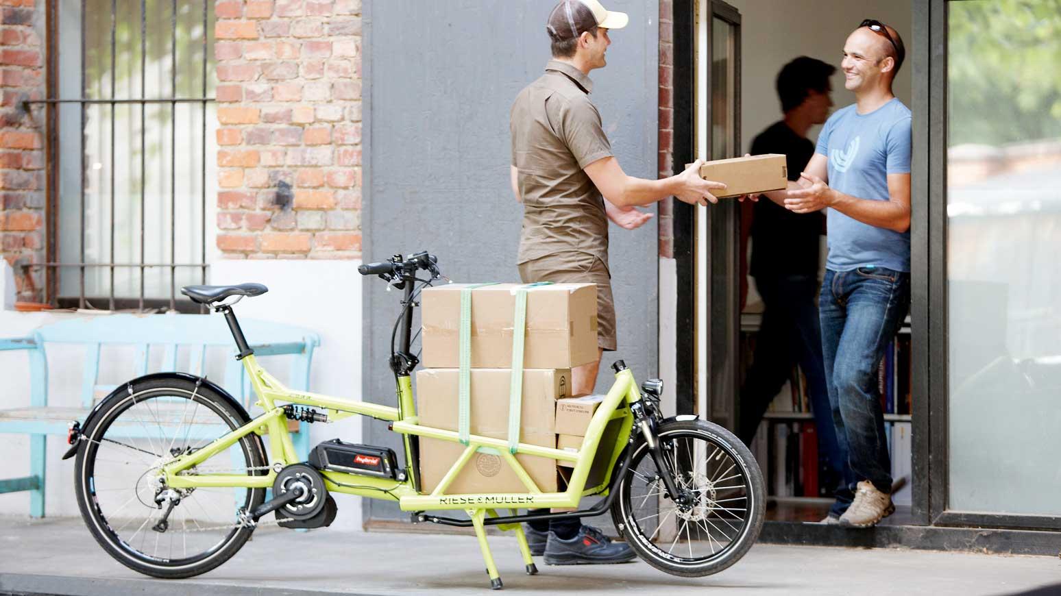 Cargobikes sind für Fahrradleasing besonders interessant