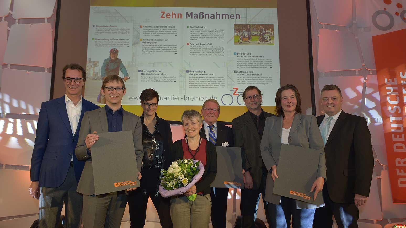 In Bremen entsteht das erste Fahrradquartier Deutschlands
