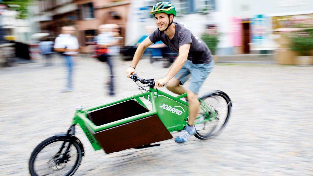 Jobrad ist einer der führenden Anbieter von Diensträdern