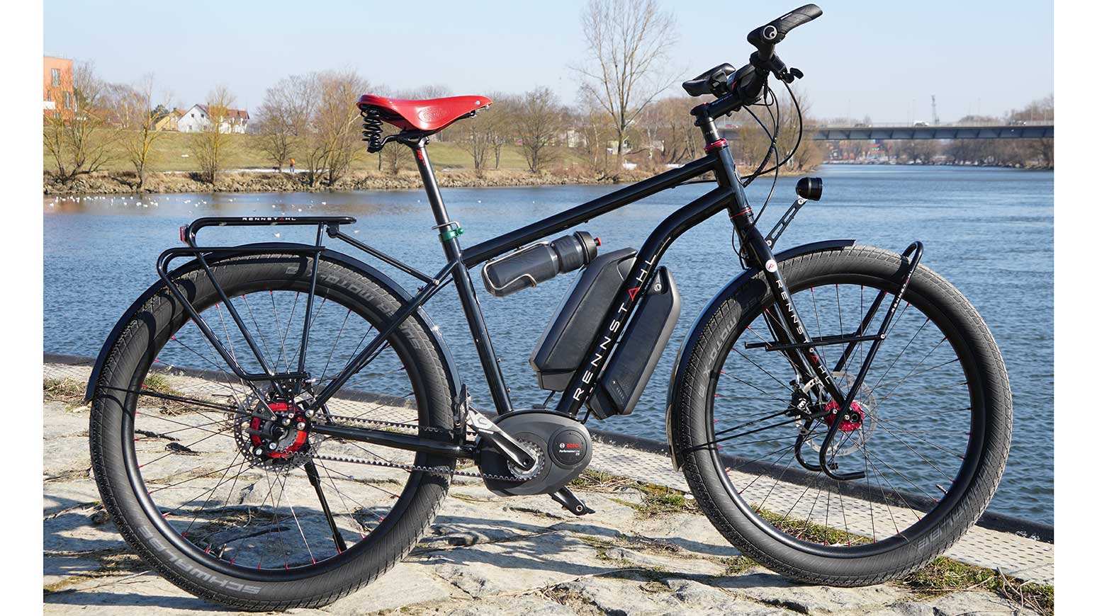 test rennstahl e bike bosch cx dualbattery elektronische. Black Bedroom Furniture Sets. Home Design Ideas