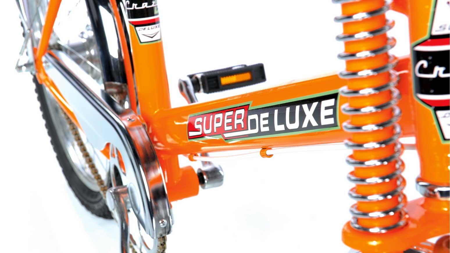 Bonanzarad Crazy D. Superdeluxe-Logo