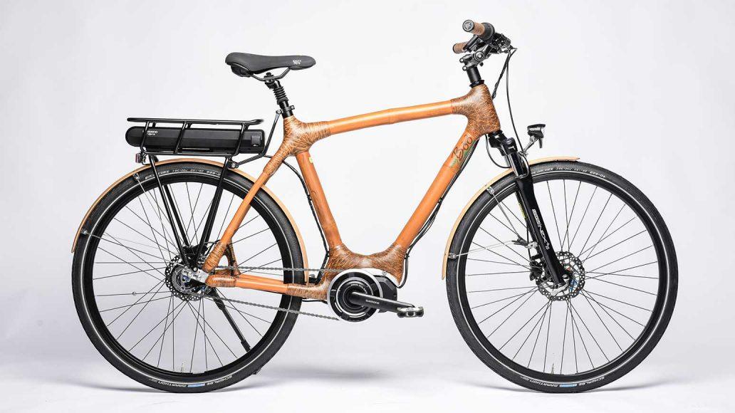 Bambus-Rahmen mit Mittelmotor: das Volta von My Boo