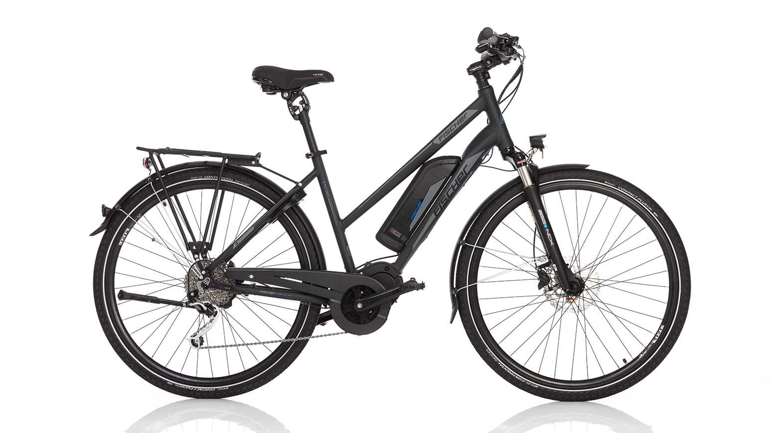 Günstiger Tourer im E-Bike-Test der Elektrorad 1/18: FISCHER_ETD1861