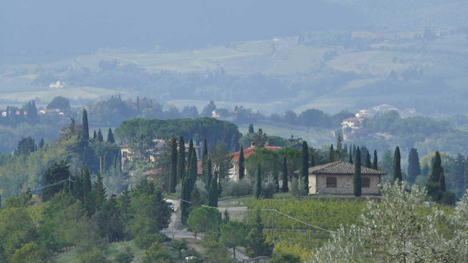 So schöne Motive ... werden auch Sie fotografieren können - hier eines von einem Teilnehmer der letztjährigen Toskana Radreise.