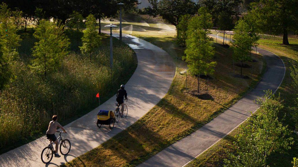 Buffalo Bayou Park in Houston/USA