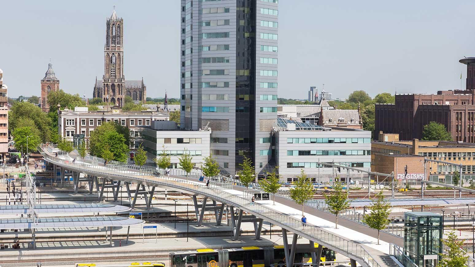 Moreelse Brücke in Utrecht/Niederlande
