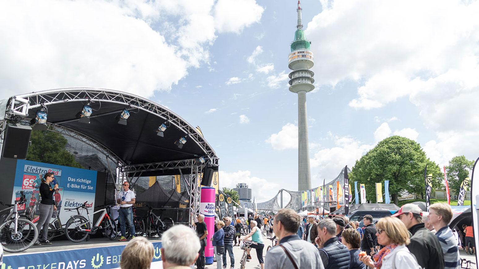 E-Bike-Days_München-Bühne