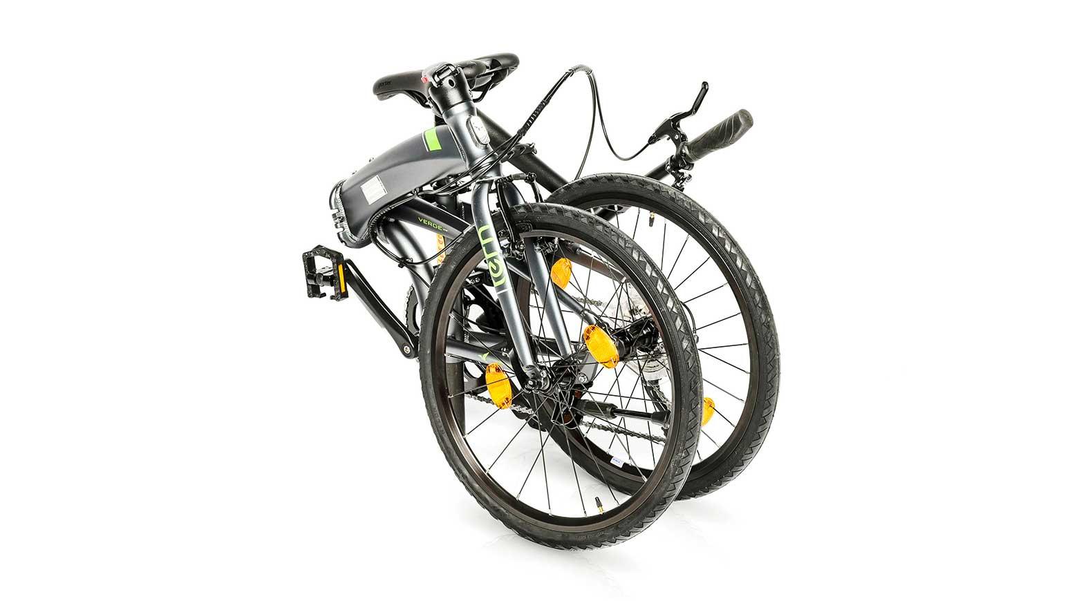 Gefaltet: KIeiner als das Tern machen sich nur wenige Falträder.