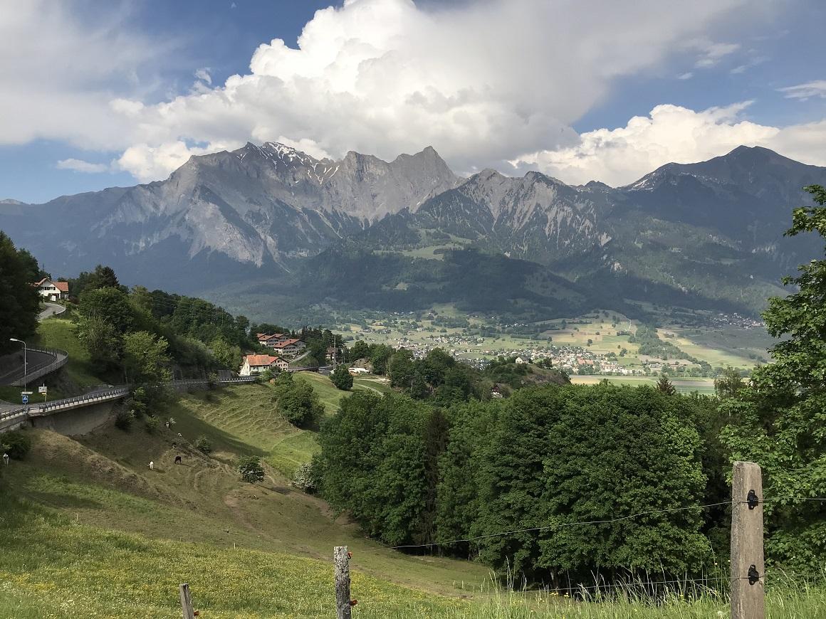 Graubünden in der Schweiz