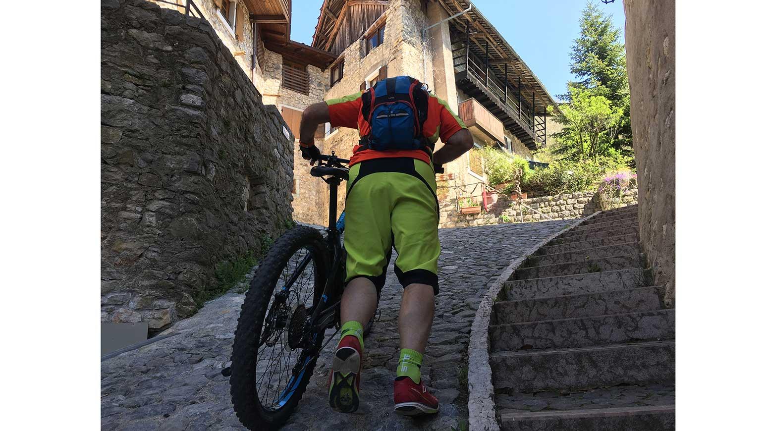 Leserreise Gardasee: Steile Stelle in Canale