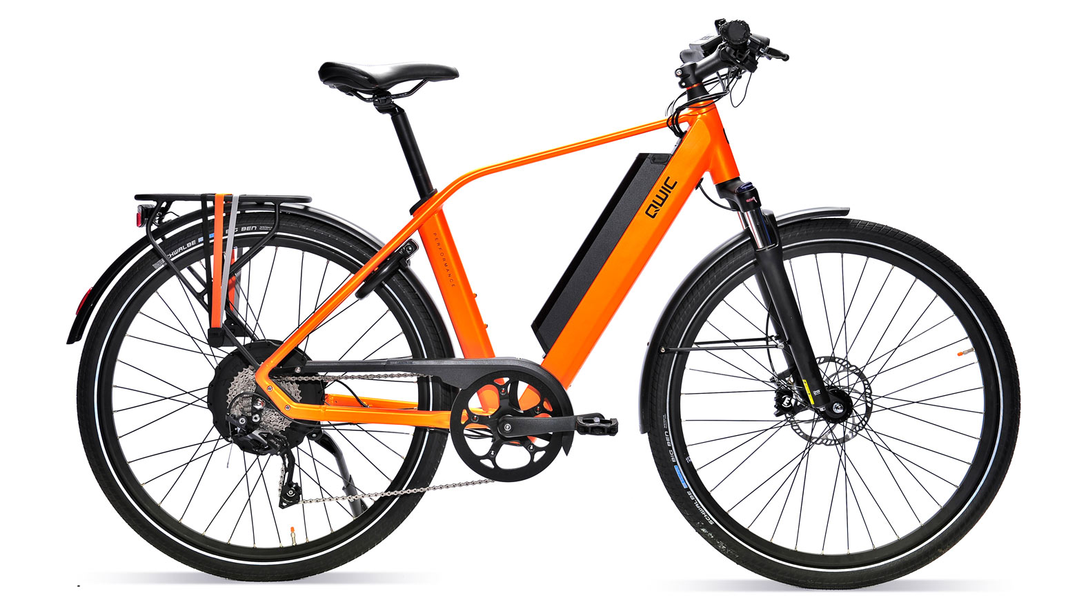 test urbanbike qwic performance rd10 schneidet gut ab im. Black Bedroom Furniture Sets. Home Design Ideas