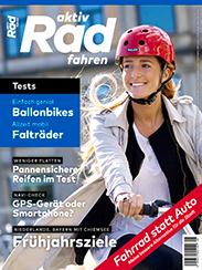 Die aktiv Radfahren 5-2018 ist ab sofort im Handel.