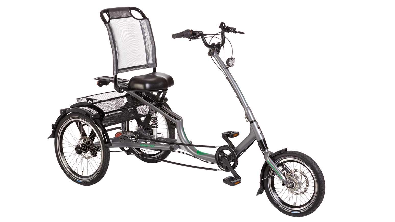 Das Trizon überzeugt mit tiefem Einstieg und drei Rädern.