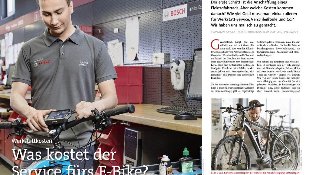 Was kostet der Werkstatt-Service für E-Bikes?