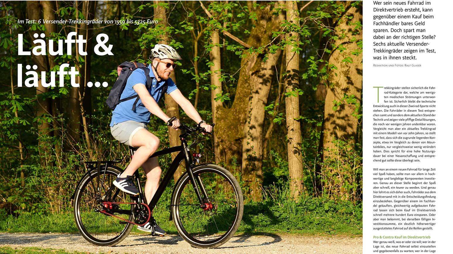 Fahrräder aus dem Online-Versand: Was taugen sie?
