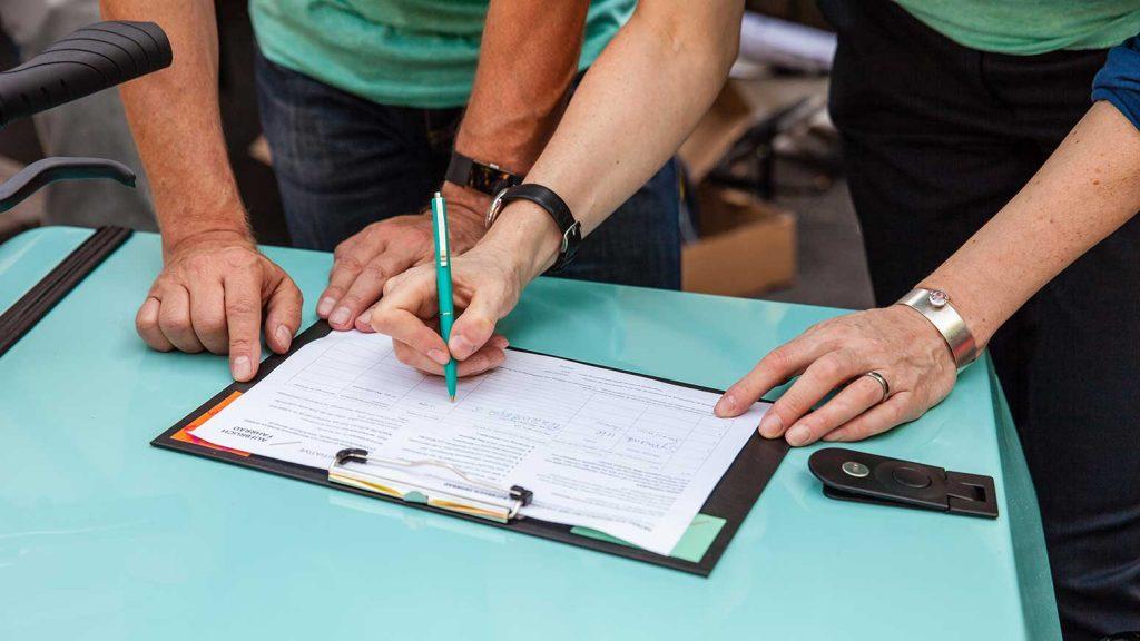 In NRW werden schon fleißig Unterschriften gesammelt.