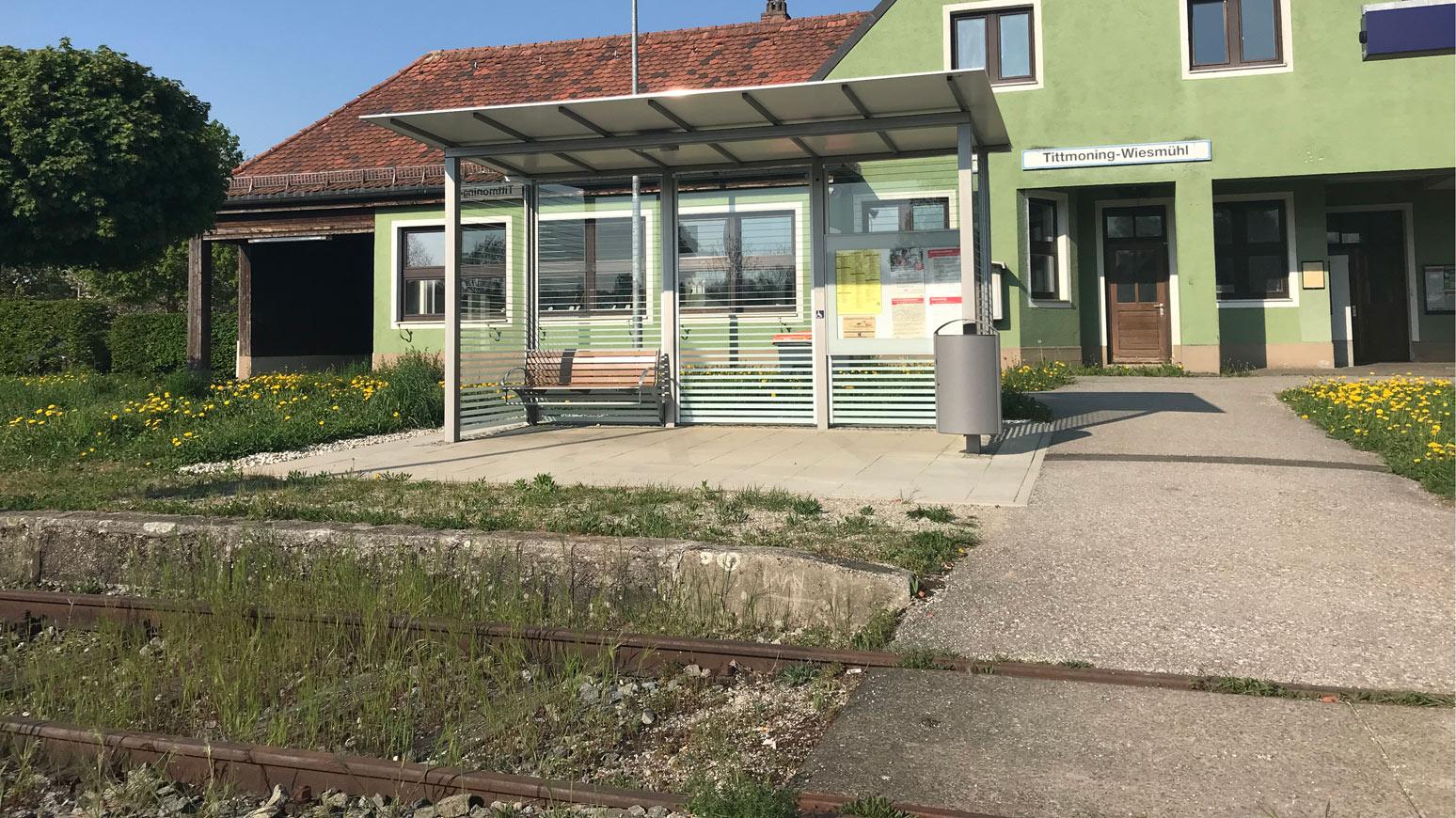 Bahnhof Tittmoning-Wiemühl