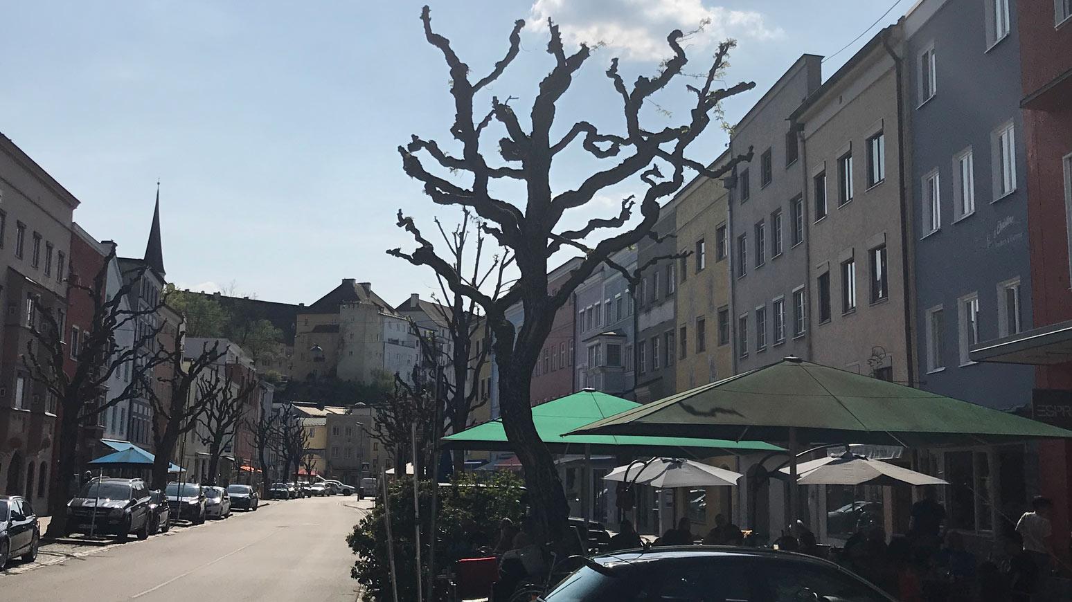 Innenstadt von Waserburg