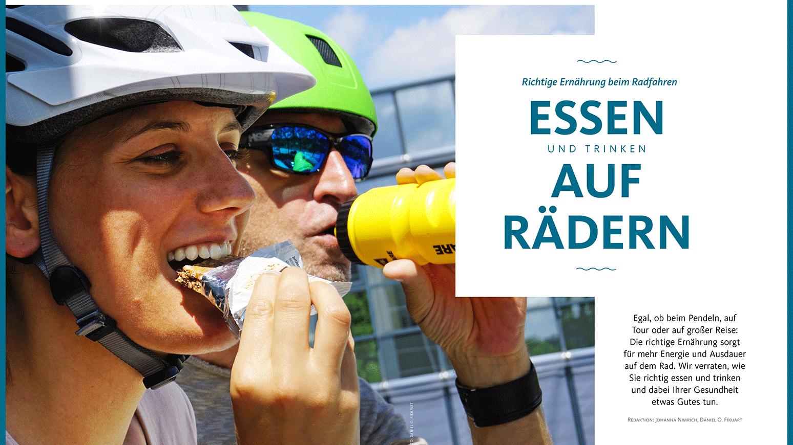 Die richtige Ernährung für Radfahrer