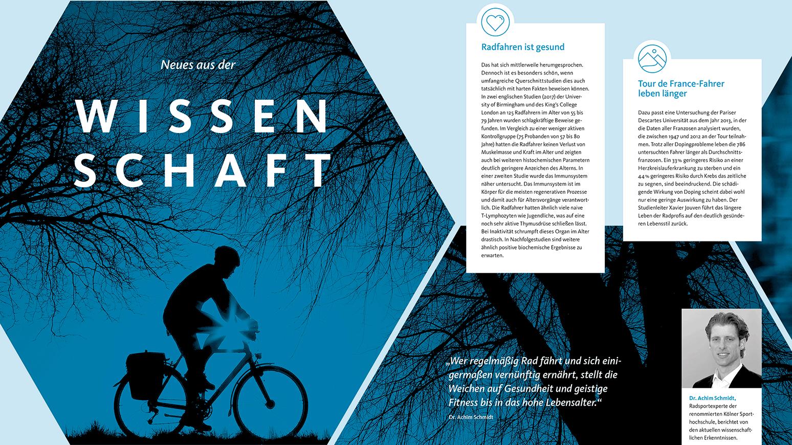 Was kann Radfahren? - Neues aus der Wissenschaft