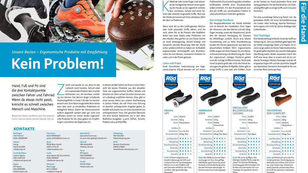 Hand, Fuß, Po: Ergonomische Top-Produkte