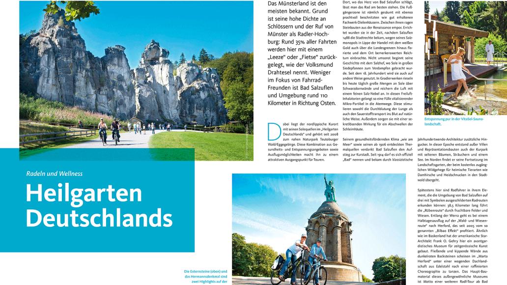 Reise: Heilgarten Deutschlands