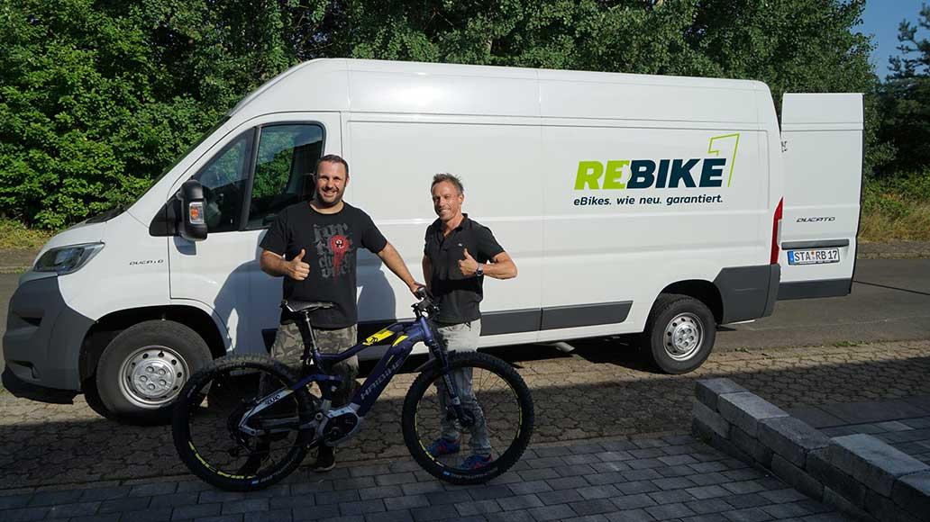 rebike1 e bikes gebraucht kaufen mit sicherheit und. Black Bedroom Furniture Sets. Home Design Ideas
