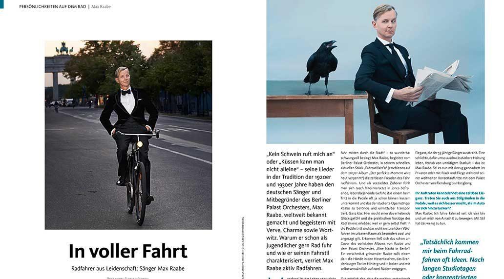 Im Interview: Sänger Max Raabe
