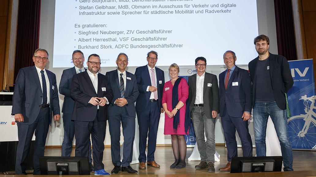 Gemeinsamer Parlamentarischer Abend der Fahrrad- und Branchenverbände ZIV, VSF und ADFC in Berlin