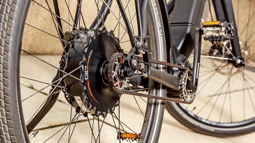 Go SwissDrive, Pedelec, E-Bike, Hecknabenmotor
