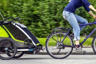 Fahrradanhanger Fur Kinder Der Thule Chariot Cab 2 Im Test