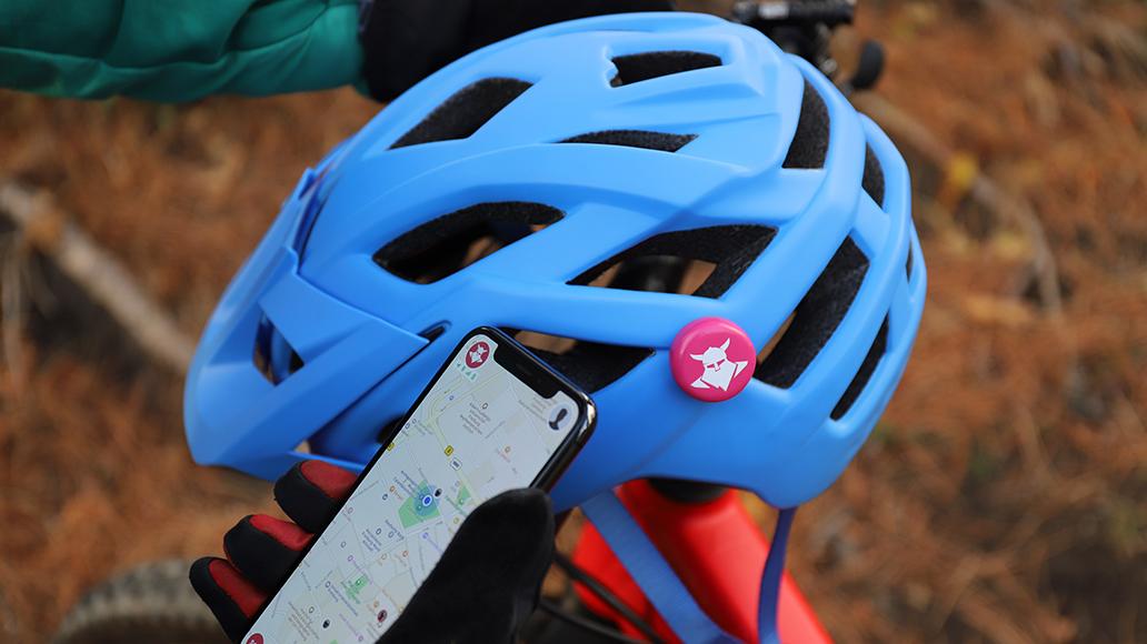 Über eine App werden alle registrierten Mountainbiker in der Nähe alarmiert