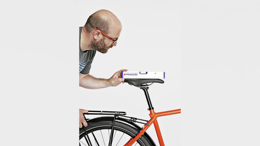 Fahrrad einstellen, Einstellung, Sattel, Sitzposition