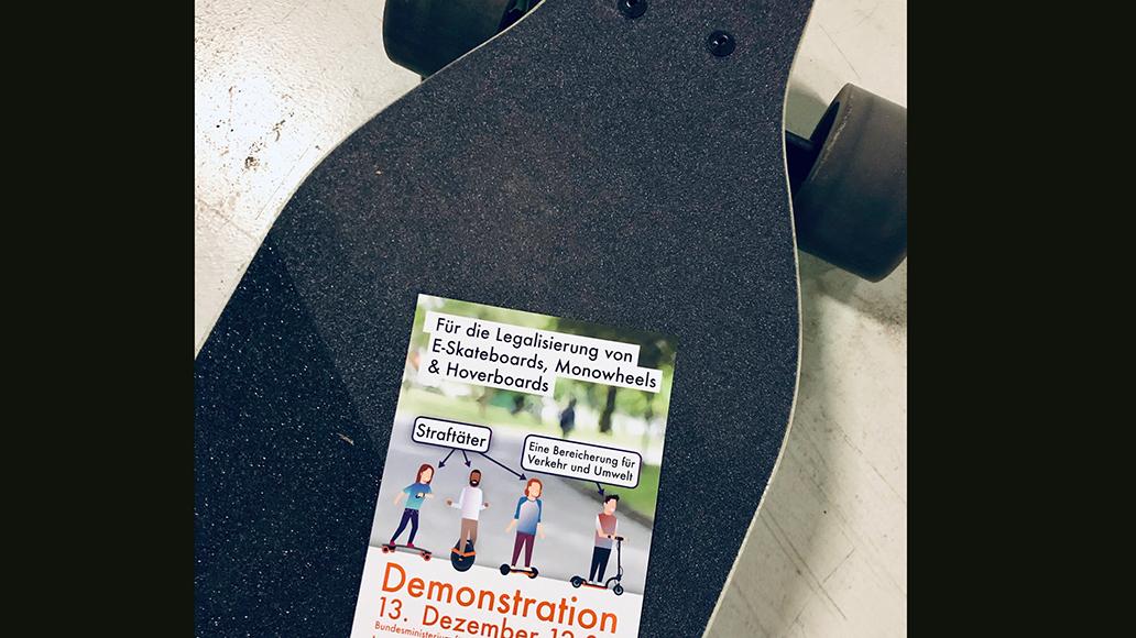 Für 13. Dezember ist die Demo angesetzt.