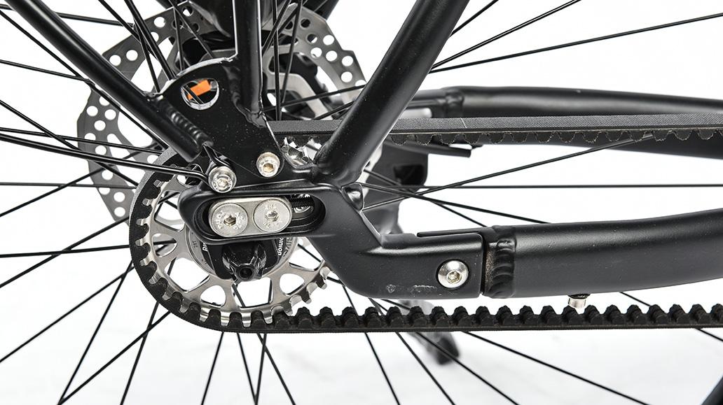 Rabeneick TS 10, Test, Fahrrad