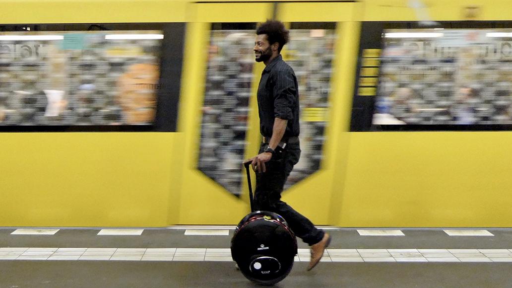 Monowheels - praktisch, aber verboten.