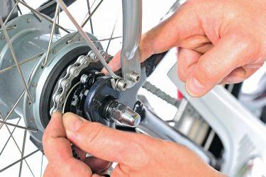 fahrrad mit nabenschaltung