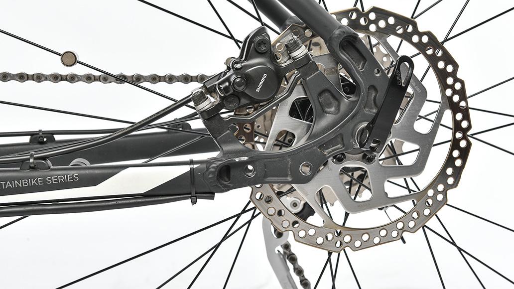 Morrison Loup 2, Test, Fahrrad