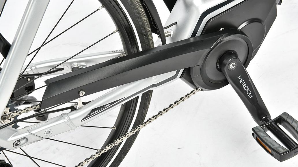 Hercules Futura Pro I-F11, Test, E-Bike