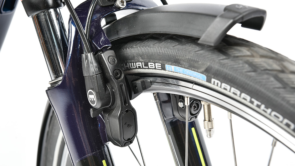 Hercules Roberta Deluxe IR-8, Test, E-Bike