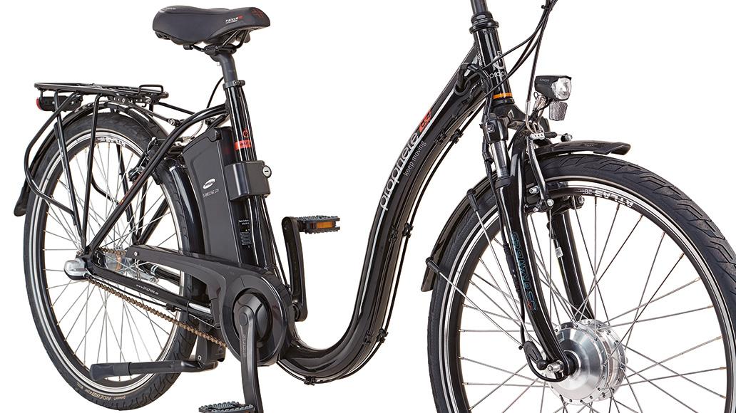 prophete genie er e9 4 city e bike 26 elektrorad im test. Black Bedroom Furniture Sets. Home Design Ideas