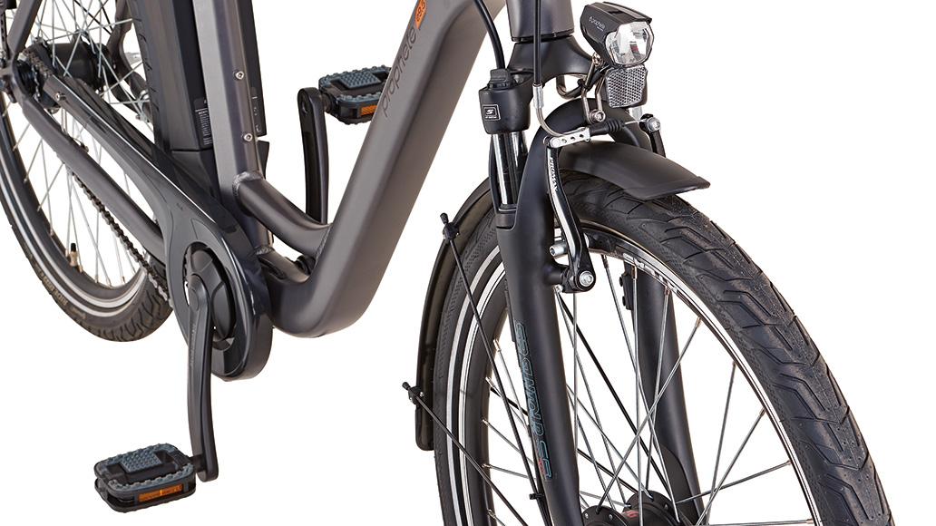 Prophete Genießer e9.5 City, Test, E-Bike