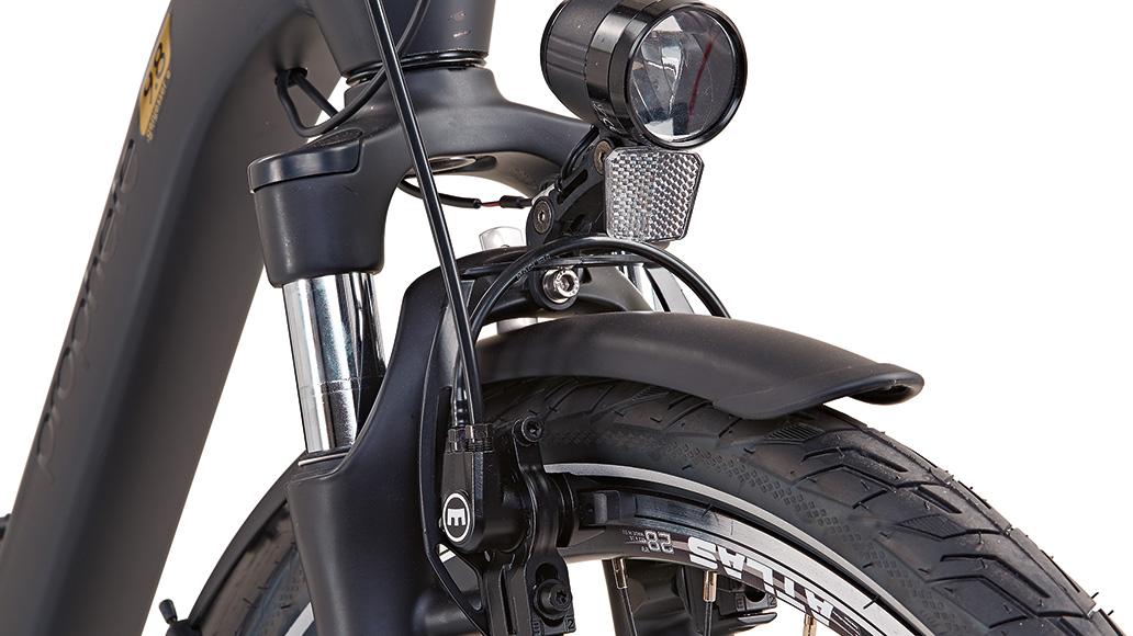 Prophete Genießer e9.8 City E-Bike, Test, E-Bike