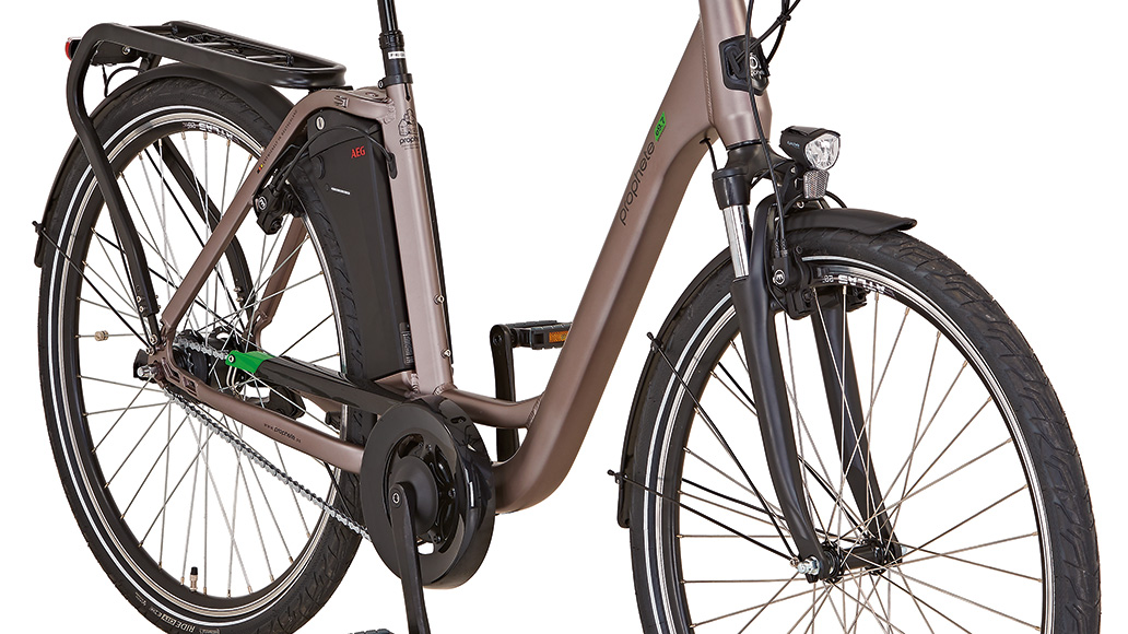 Prophete Genießer e9.7 City, Test, E-Bike